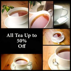 All Tea Up to 50% Off