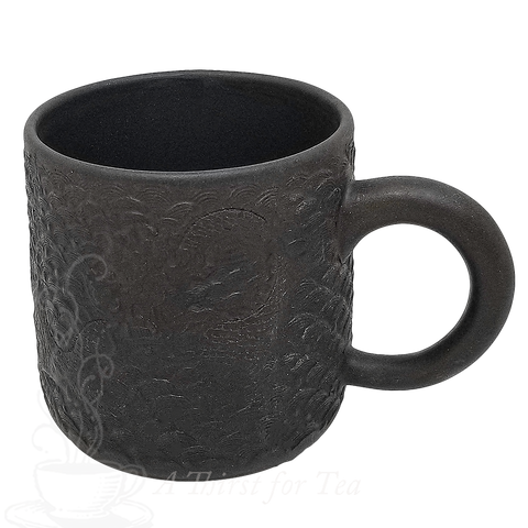 Dragon Motif Yixing Tea Mug