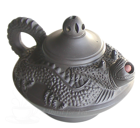 Double Dragon 11 oz. Yixing Teapot