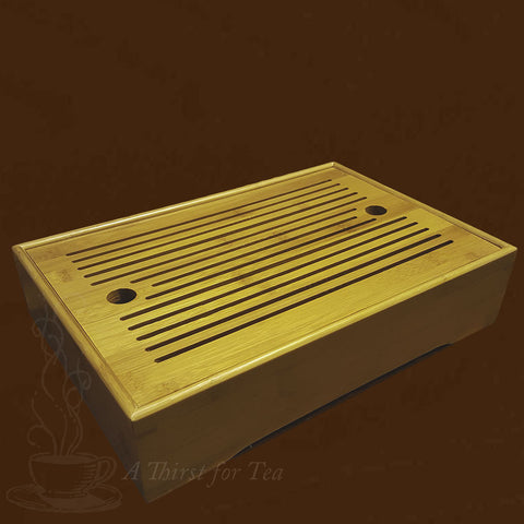 Tea Table, Medium Bamboo