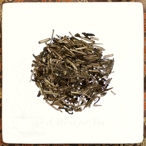 Hoji Cha, Japanese Roasted Green Twig Tea