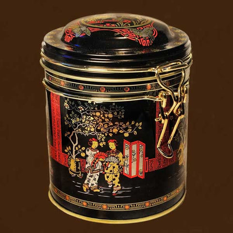 Micha Japanese Motif Stainless Steel Storage Tin