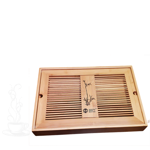 Traditional Bamboo Tea Tray