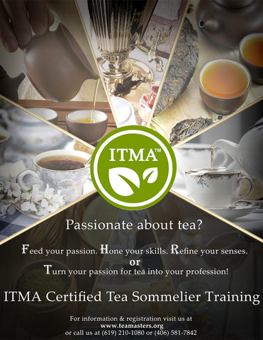 ITMA Certified Tea Sommelier Training