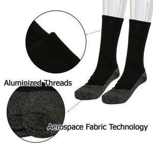 Winter 35 Below Aluminized Insulation Fibers Heat Socks
