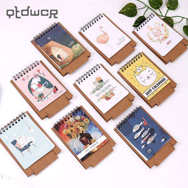 Cute Table Desk Calendar