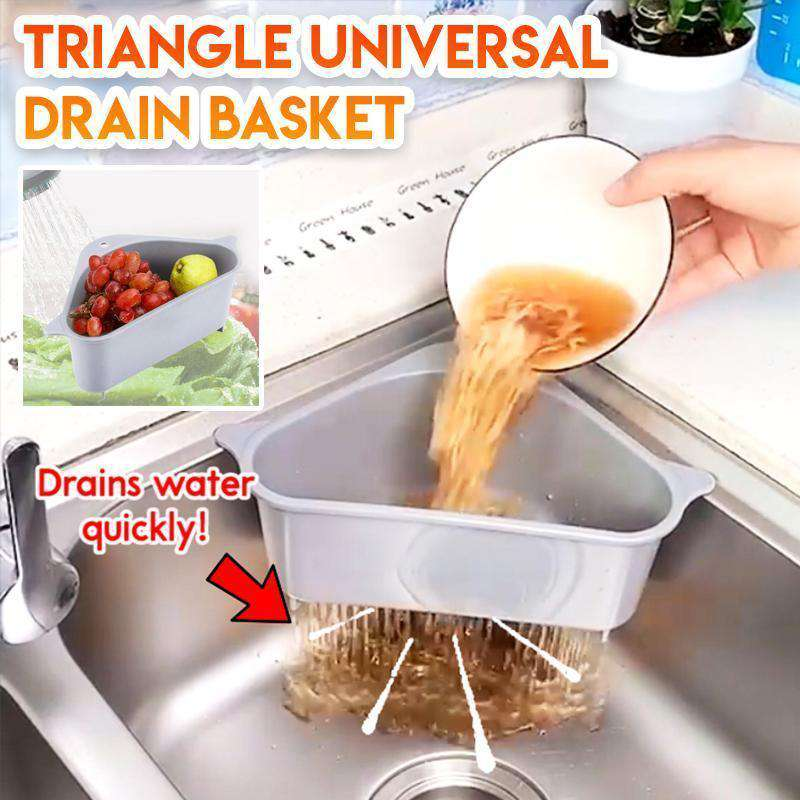 Multi-Functional Triangle Drain Basket