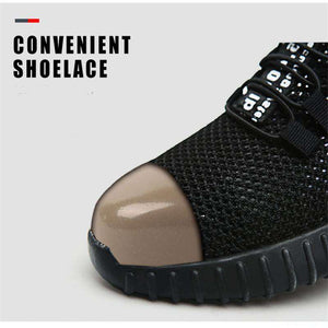 Lightweight industructable safety shoe
