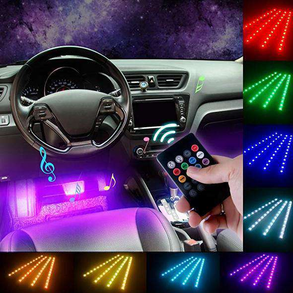 Car Interior Lights (No Need to Install)