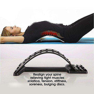 Back Stretcher Posture Corrector - Lumbar Support
