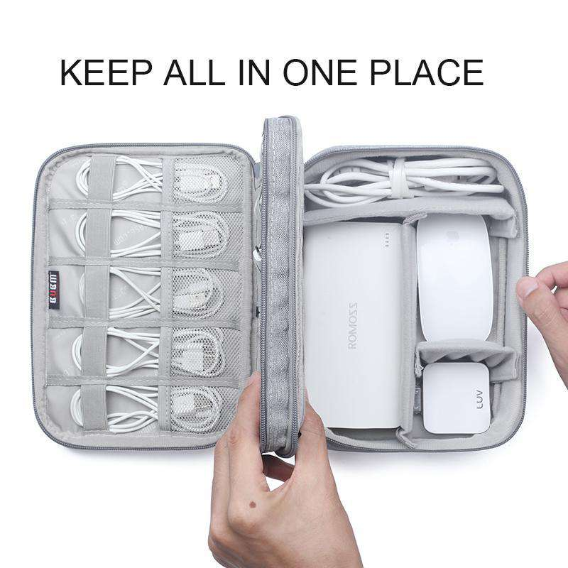 Gear Carry Bag for Cables,USB Flash Drive,etc. Fit for iPad