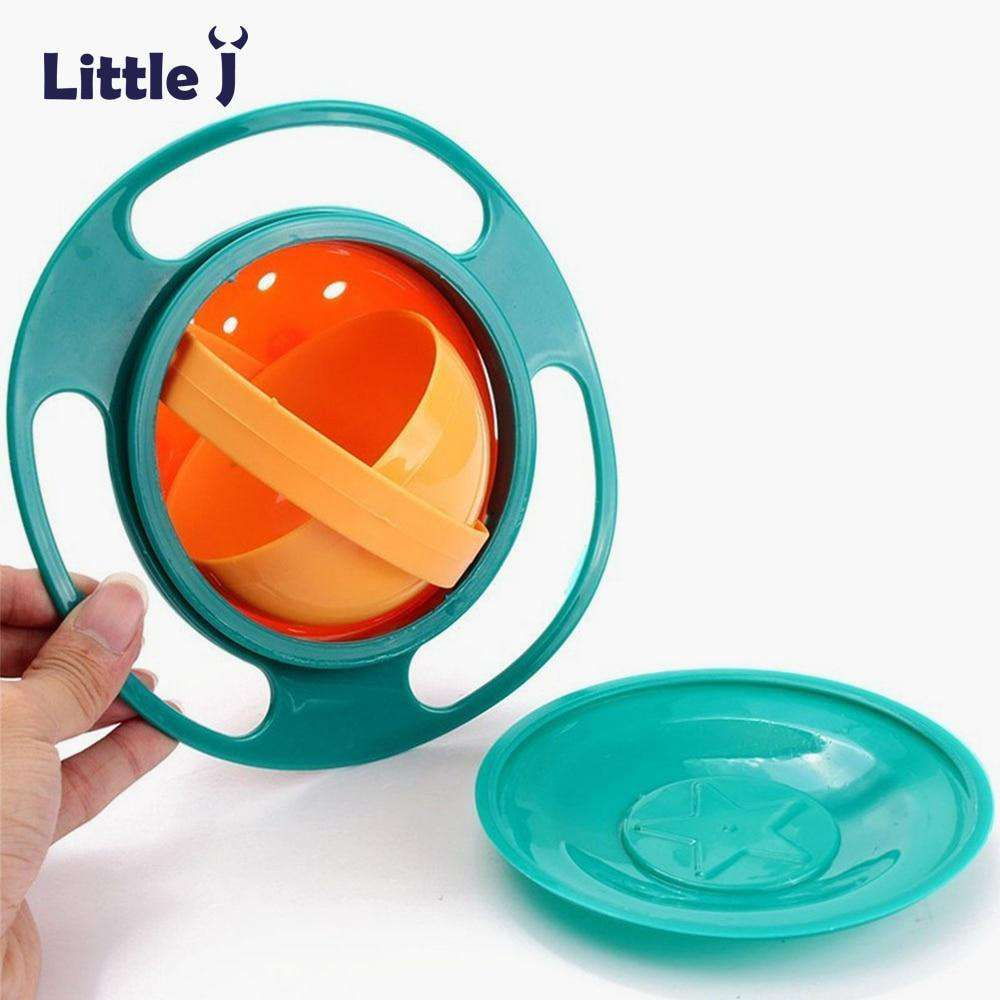 Children Universal 360 Rotate Spill-Proof Bowl