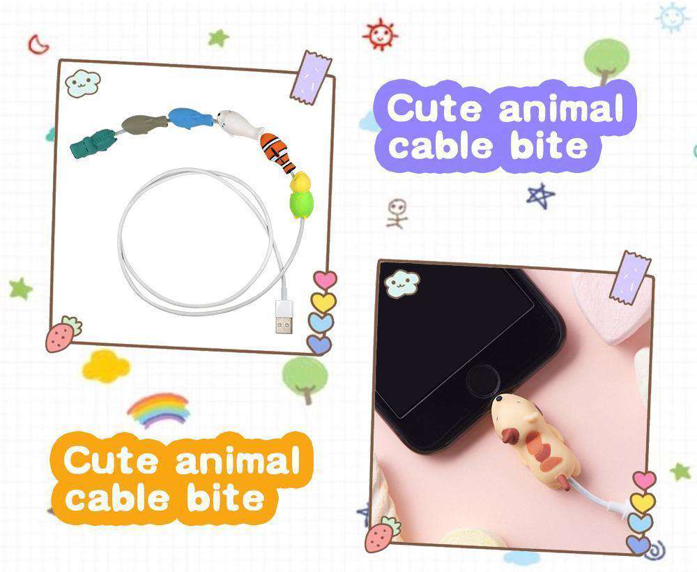The Cute Animal Cable Bite (Factory Outlet)
