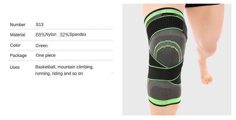 Kneer - 3D Knee Compression Pad (Freeshipping)