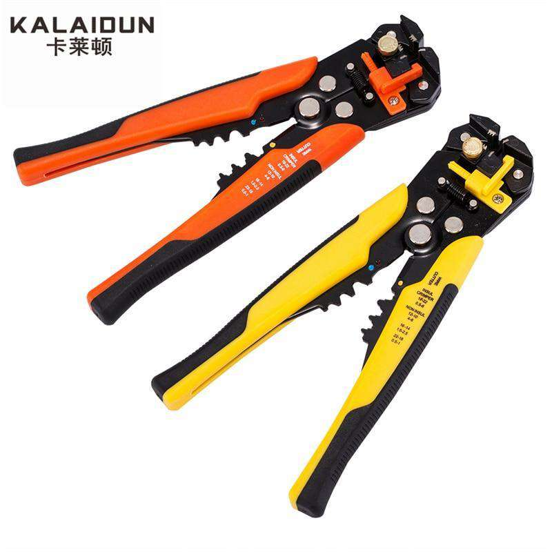 Multifunctional automatic stripping pliers