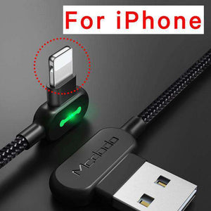 Lightning Bolt - Smart Braided Charging Cable