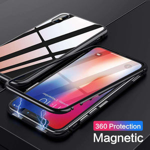 MAG - Luxury Magnetic Adsorption Metal Case for iPhone