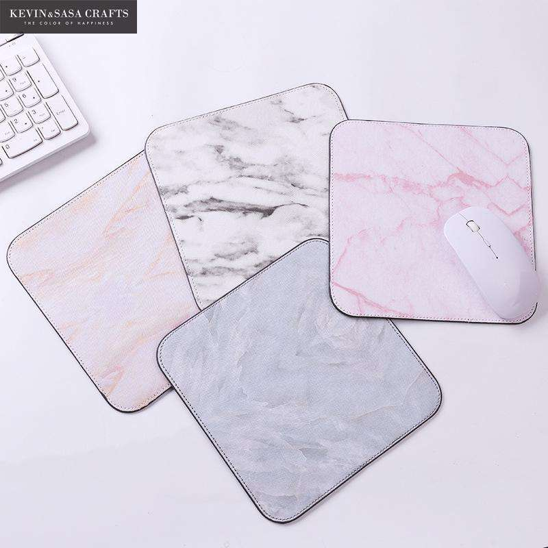 Mat Marble Pattern Office Desk