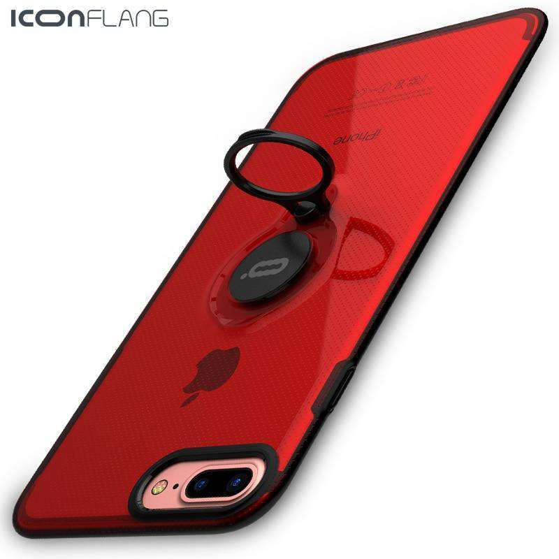 Magnetic Back Ring Holder For iPhone 7 6 6S  8 8 Plus
