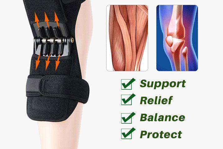 Power Knee - Joint Support Knee Brace - 1 Pair (Freeshipping)