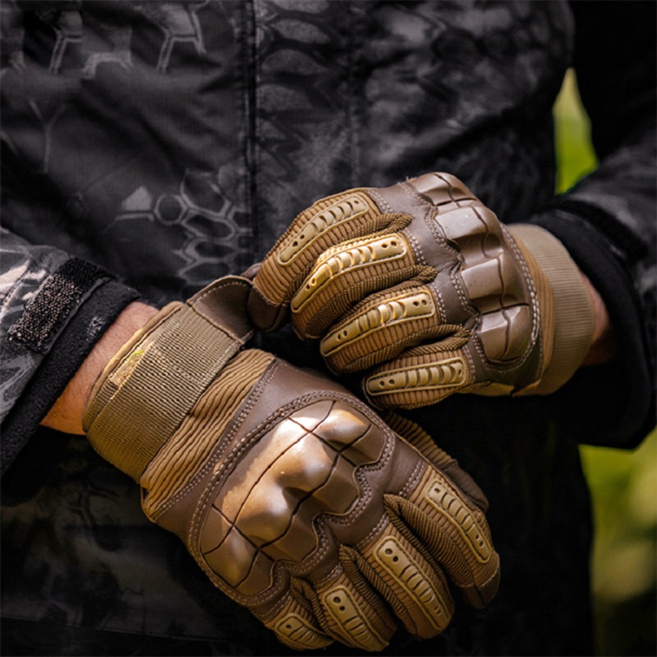 Premium Military Full Finger Tactical Gloves