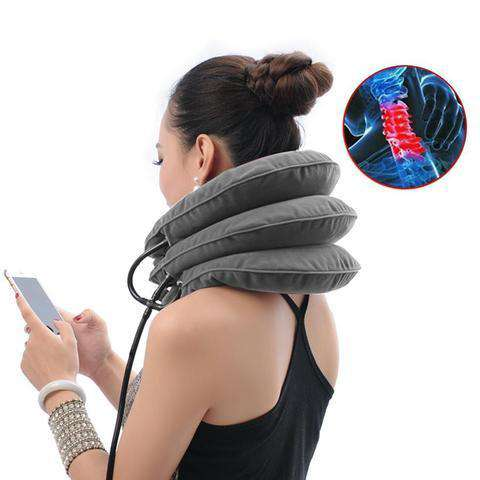 The Neck Traction Pillow