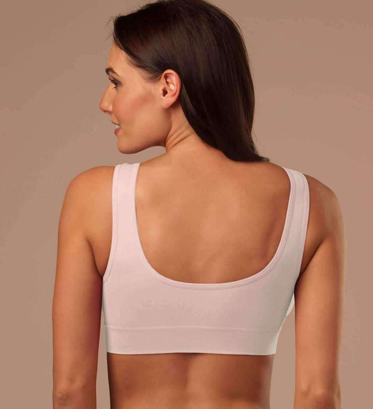 Seamless Push-up Bra With Pads