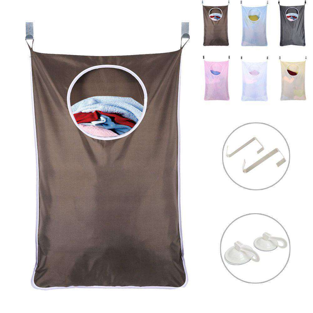Hanging Laundry Hamper Over the Door Large