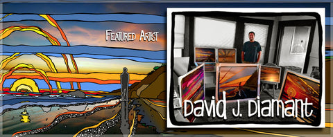 featured artist david j. diamant