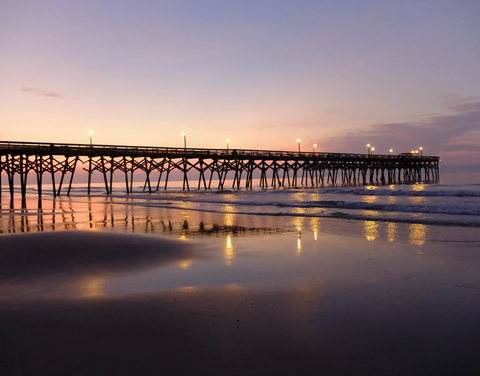 Carolina Pier Sunrise III