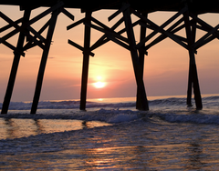 Carolina Pier Sunrise II