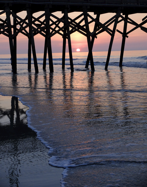 Carolina Pier Sunrise IV
