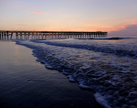 Carolina Pier Sunrise I