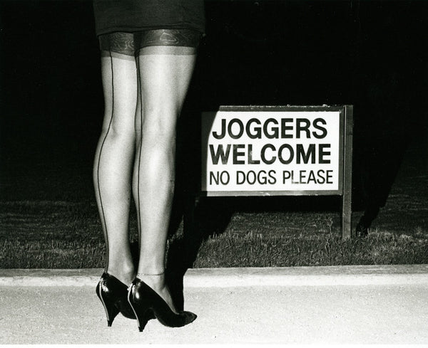 Joggers Welcome - No Dogs Please