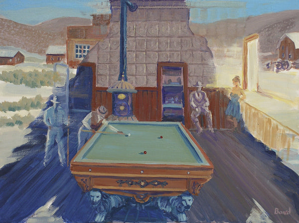 Ghosts and Billiard Table Bodie CA