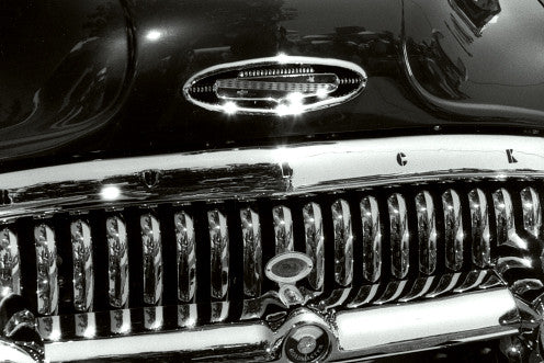 Black 53 Buick Grill