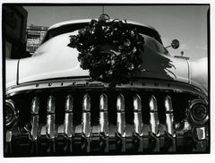 1950 Buick Grille with Christmas Wreath