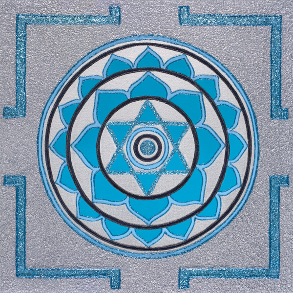 Painted Prayers - Enlightenment Yantra