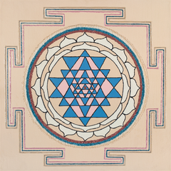 Painted Prayers - Health Yantra