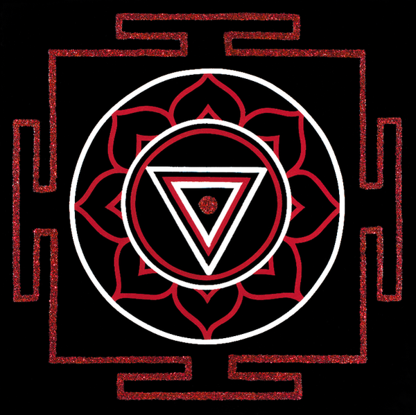 Painted Prayers - Liberation Yantra