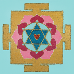 Painted Prayers - Love Yantra