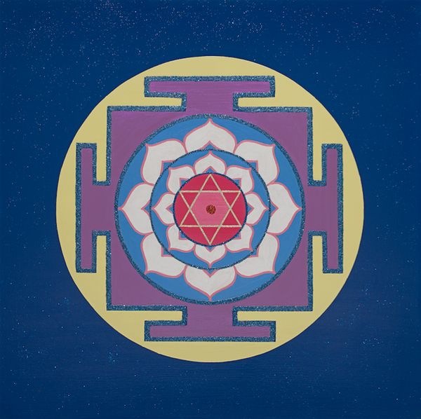 Painted Prayers - Wisdom Yantra