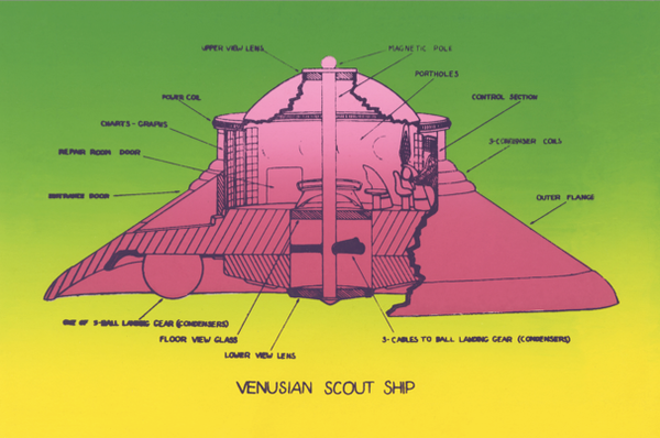 Venusian Scout Ship