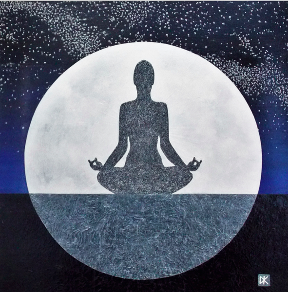 Full Moon Meditator