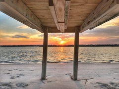 Inlet Dock Sunset