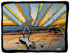 Sunset Surfer #25a