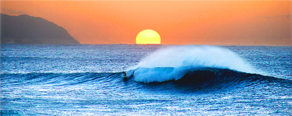 North Shore Sunset Wave