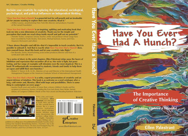Have You Ever Had A Hunch: The Importance of Creative Thinking - Book