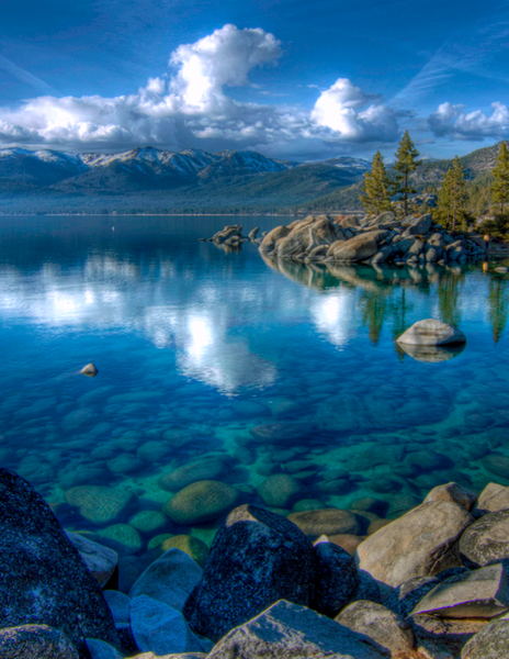 Lake Tahoe Reflections