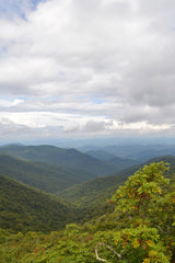 Misty Blue Ridge Vista